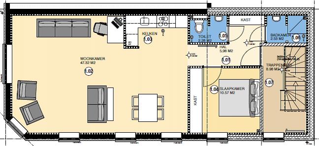 Appartementen IJmuiden