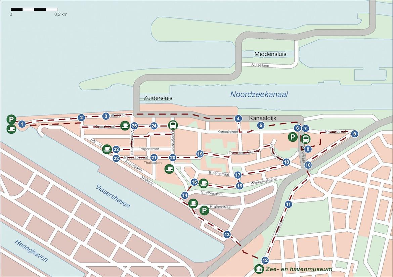 Wandelroute beleef Oud-IJmuiden